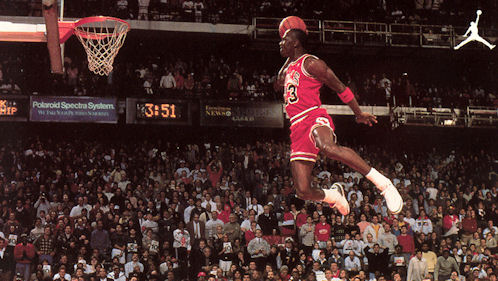 le dernier 0d72a edbad Le mix du jour : 15 minutes de Michael Jordan de 1984 à 1988 ...