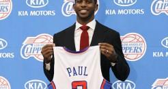Présentation de Chris Paul avec les Clippers