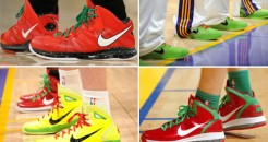 christmas shoes NBA