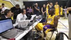 Kobe Bryant au media day