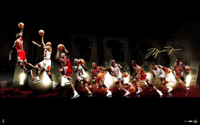 photos officielles ed0f3 5843c Michael Jordan : anatomie d'un extra-terrestre | Basket USA