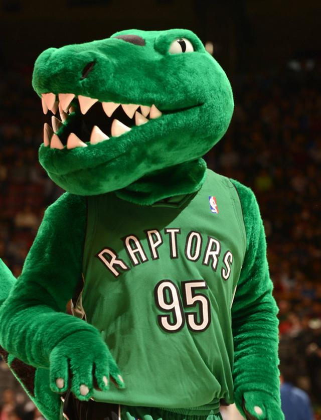Mascotte Raptors