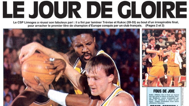 Une de L'Equipe - 15 avril 1993