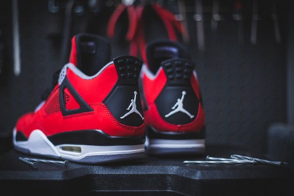 air jordan retro 4 rouge