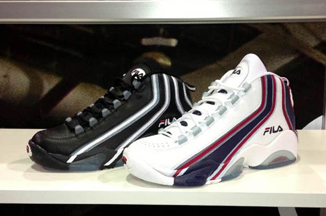 Old Fila Basketball Shoes