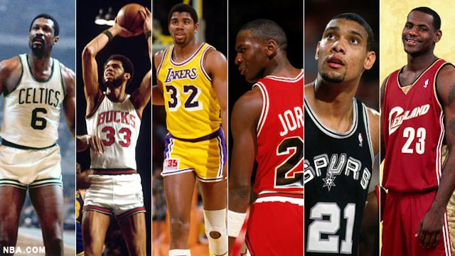 Nouvelles Arrivées 55fbb c9b2b Le Top 50 des plus belles carrières NBA | Basket USA