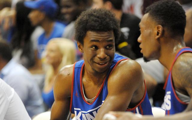 NCAA Basketball: Kansas-Late Night