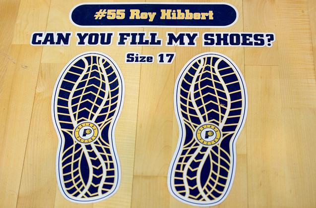 Empreintes de Roy Hibbert