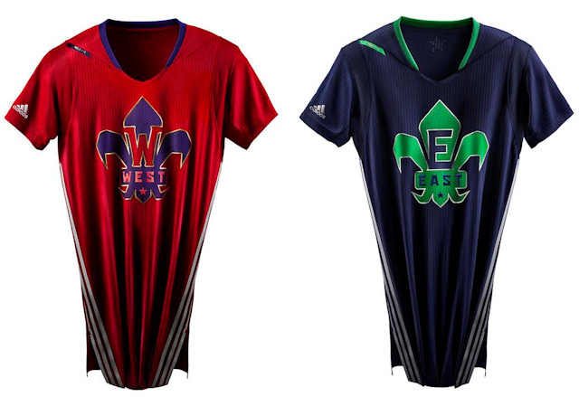 1c89a6f29cc4f Des maillots à manches au All-Star game ! | Basket USA