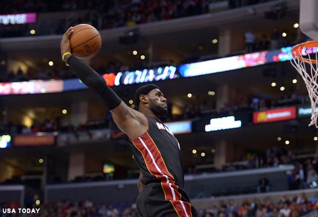 LeBron James et Blake Griffin ont enflammé le Staples Center