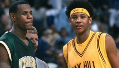 LeBron James & Carmelo Anthony-in-High-School-650x330