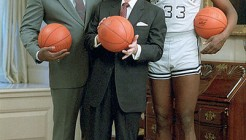 Ronald_Reagan_with_John_Thompson,_Patrick_Ewing