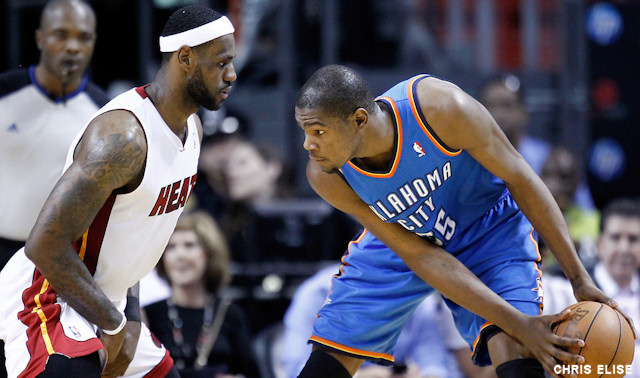 LeBron James vs Kevin Durant