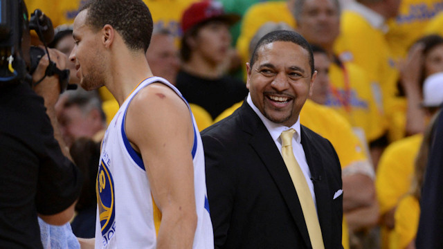 Mark Jackson et Stephen Curry