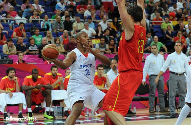Jeux Olympiques 2012 Quarts de finale France-Espagne