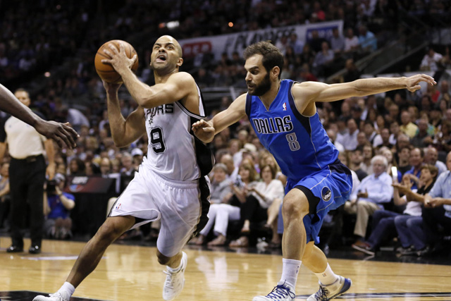 NBA: Playoffs-Dallas Mavericks at San Antonio Spurs