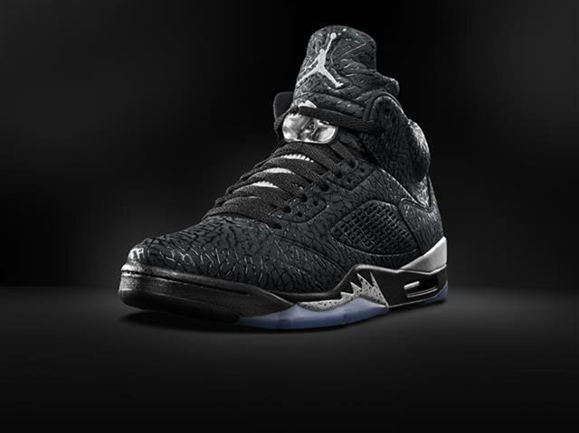 air jordan 3lab5 black metallic 2