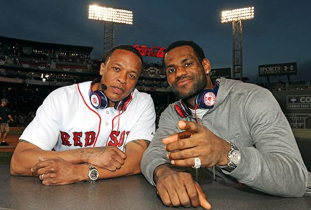 Dr Dre et LeBron James