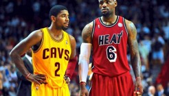 LeBron james et Kyrie Irving réunis
