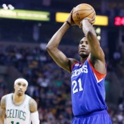 NBA: DEC 08 76ers at Celtics