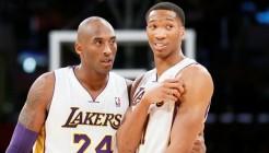 Kobe Bryant et Wes Johnson