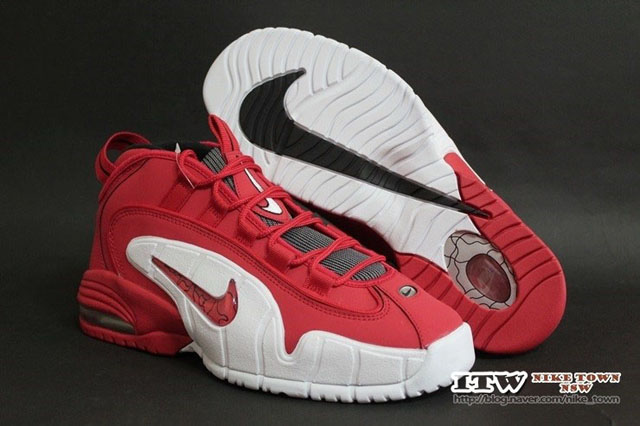 back after nearly two decades the nike air max penny 1. nike air max penny 1  red 5