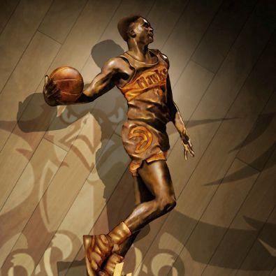La statue de Do Wilkins