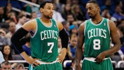 Jared Sullinger avec Jeff Green