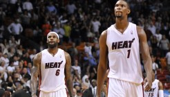LeBron James - Chris Bosh