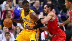NBA: Playoffs-Chicago Bulls at Indiana Pacers