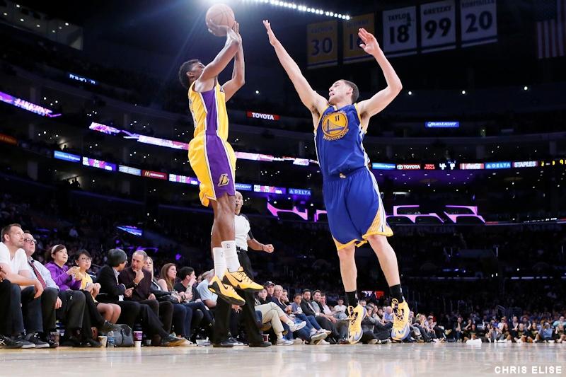 Sans Kobe Bryant, les Lakers giflent les Warriors !