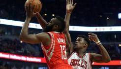 NBA: Houston Rockets at Chicago Bulls