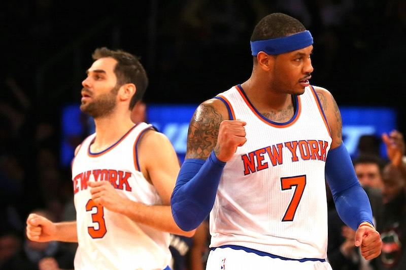 Saison terminée pour Carmelo Anthony