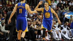 NBA: Golden State Warriors at Miami Heat