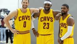 USP NBA: CLEVELAND CAVALIERS-MEDIA DAY S BKN USA OH