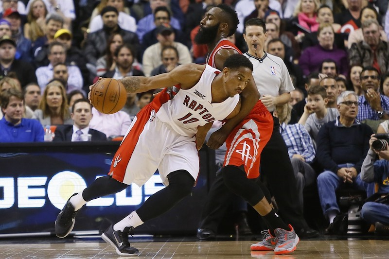 Toronto - Houston : DeMar DeRozan (42 points) domine son pote James Harden