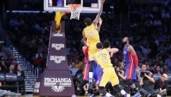 NBA: MAR 10 Pistons at Lakers