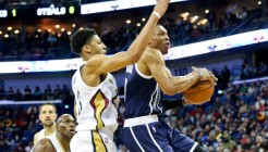 NBA: Oklahoma City Thunder at New Orleans Pelicans