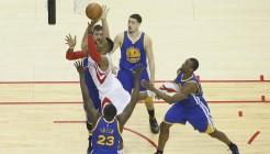 NBA: MAY 23 Warriors at Rockets
