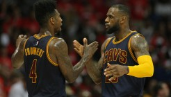 NBA: Playoffs-Cleveland Cavaliers at Atlanta Hawks