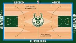 Nouveau parquet des Bucks