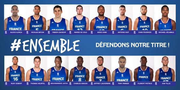 Basket Usa Equipe De France La Liste Des 16 Joueurs Pour La