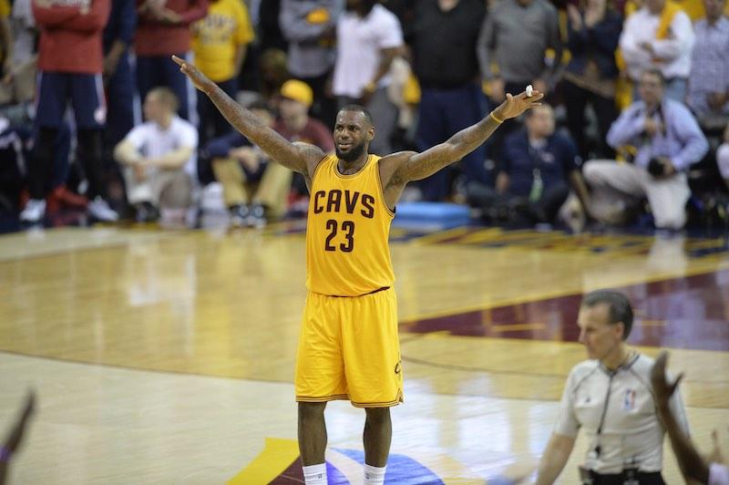 NBA Finals : record de points pour LeBron James après trois matches
