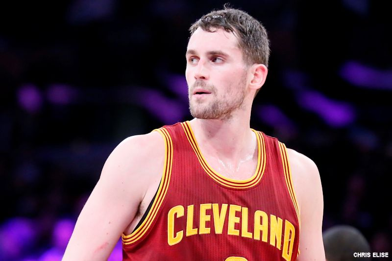 Les Cavaliers lâchent 190 million de dollars pour prolonger Kevin Love et Tristan Thompson