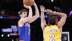 NBA: MAR 12 Knicks at Lakers