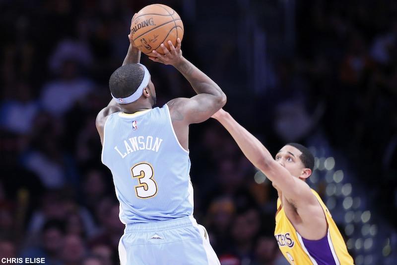 NBA: FEB 10 Nuggets at Lakers