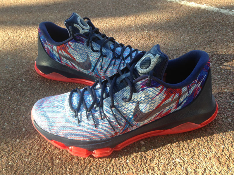 design intemporel 855c9 9a34a Test de chaussures : la Nike KD8 de Kevin Durant | Basket USA