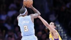 ÂNBA: FEB 10 Nuggets at Lakers