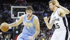 NBA: APR 03 Nuggets at Spurs