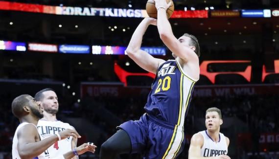 NBA: NOV 25 Jazz at Clippers